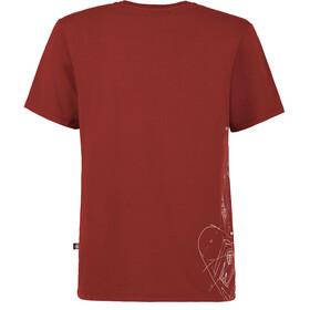 E9 Preserve T-shirt Herre wine